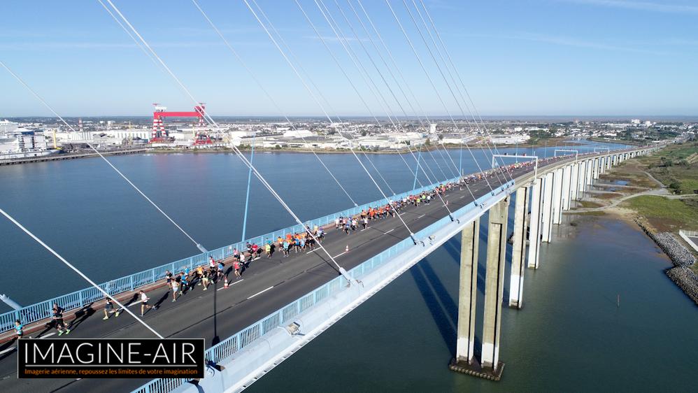 Drone foulées du pont 2018