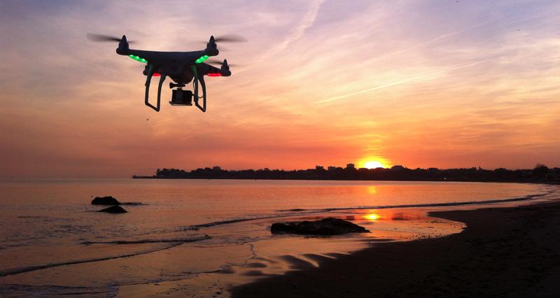 Photos et Vidéos aériennes en drone à Saint Nazaire, La Baule, Pornichet, Le Pouliguen, Guérande.
